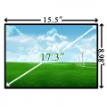 "17.3"" LCD дисплей \ матрица HP Pavilion DV7 LED left"